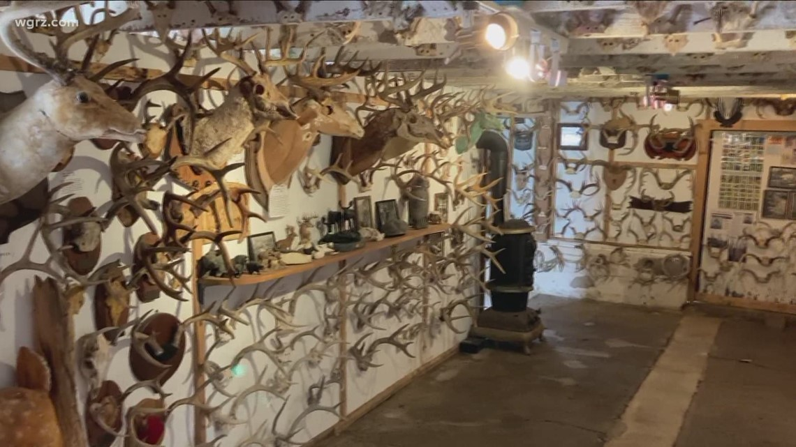 A museum in the Southern Tier is filled with nothing but antlers