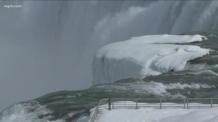 Winter weather makes Niagara Falls a wonderland