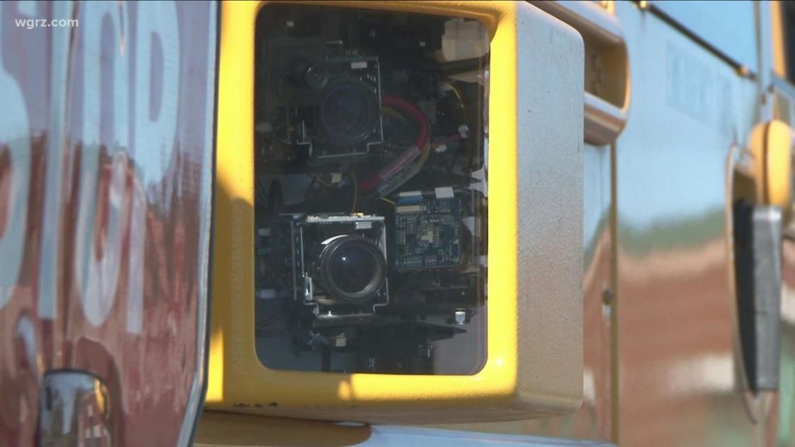 Niagara Falls Schools introducing stop arm cameras