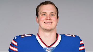 Bills tight end Tyler Kroft injures other ankle