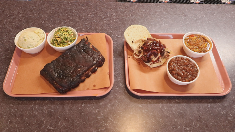 Ribs and Pork at B&B BBQ
