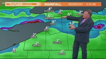 Storm Team 2 Patrick Hammer Has Your Midday Forecast For August 12, 2019
