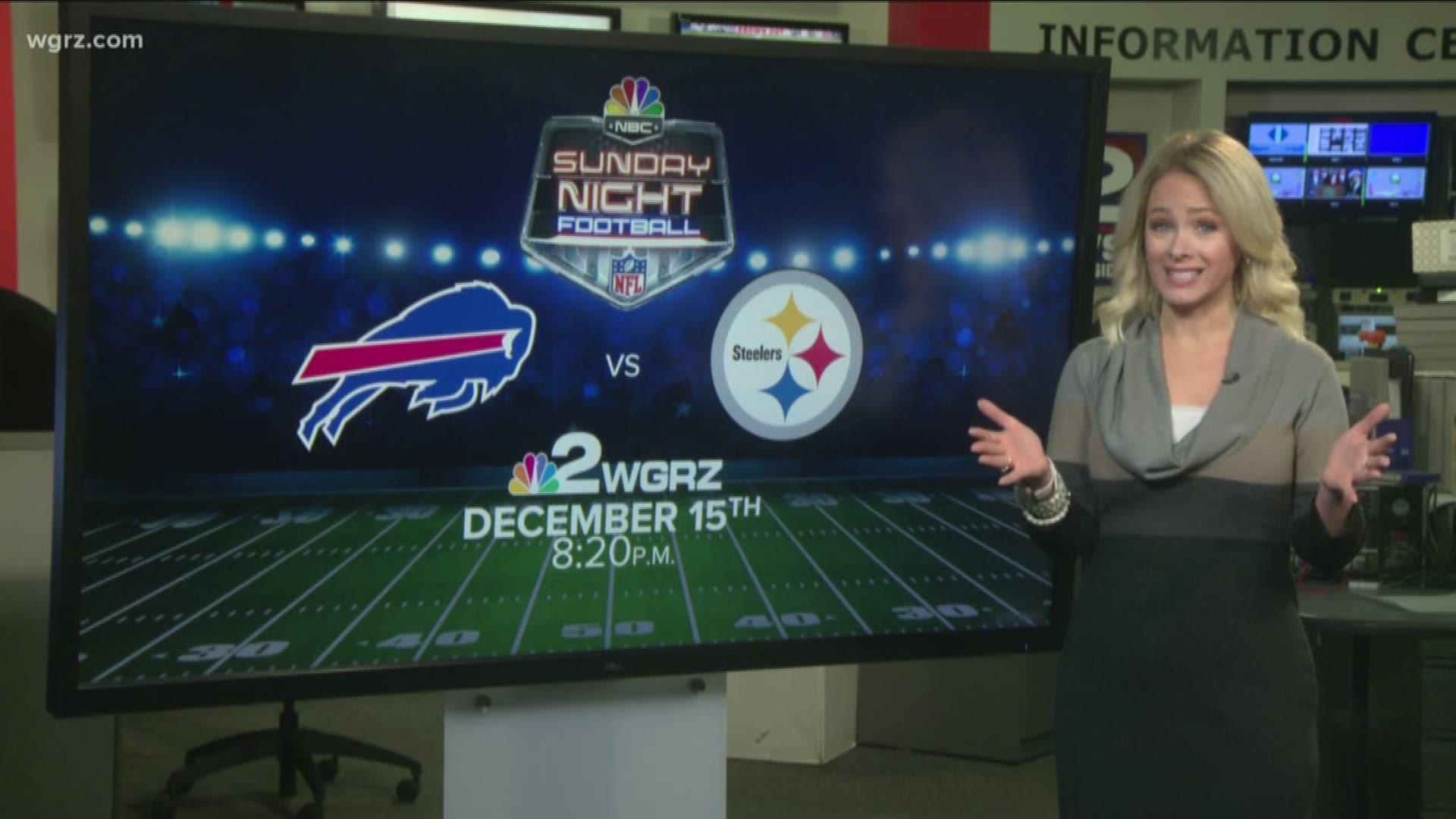Bills Week 15 Game Vs Steelers Moved To Prime Time On Channel 2 Wgrz Com