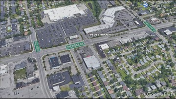Woman Hit By Car Crossing Sheridan Dr.
