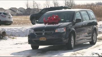 Niagara Falls Family Receives New Car