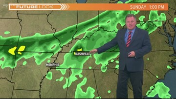 Storm Team 2 Patrick Hammer Has Your Midday Forecast For October 3, 2019