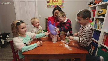 Daybreak's 'At Home Science': Chemical reactions
