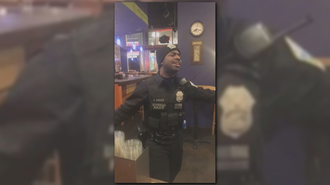 these singing buffalo police officers will make you smile