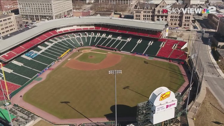 Frontline healthcare workers can get 2 free tickets to Bisons home opening weekend