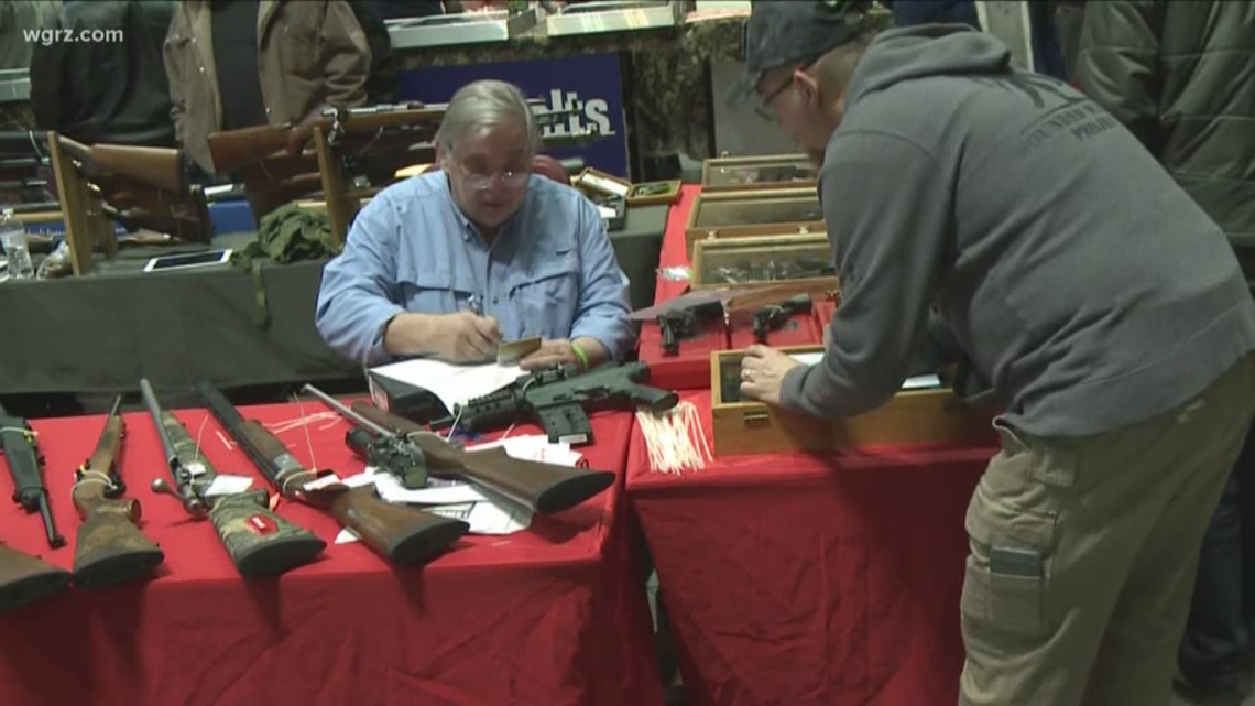 NY bill would ban gun raffles