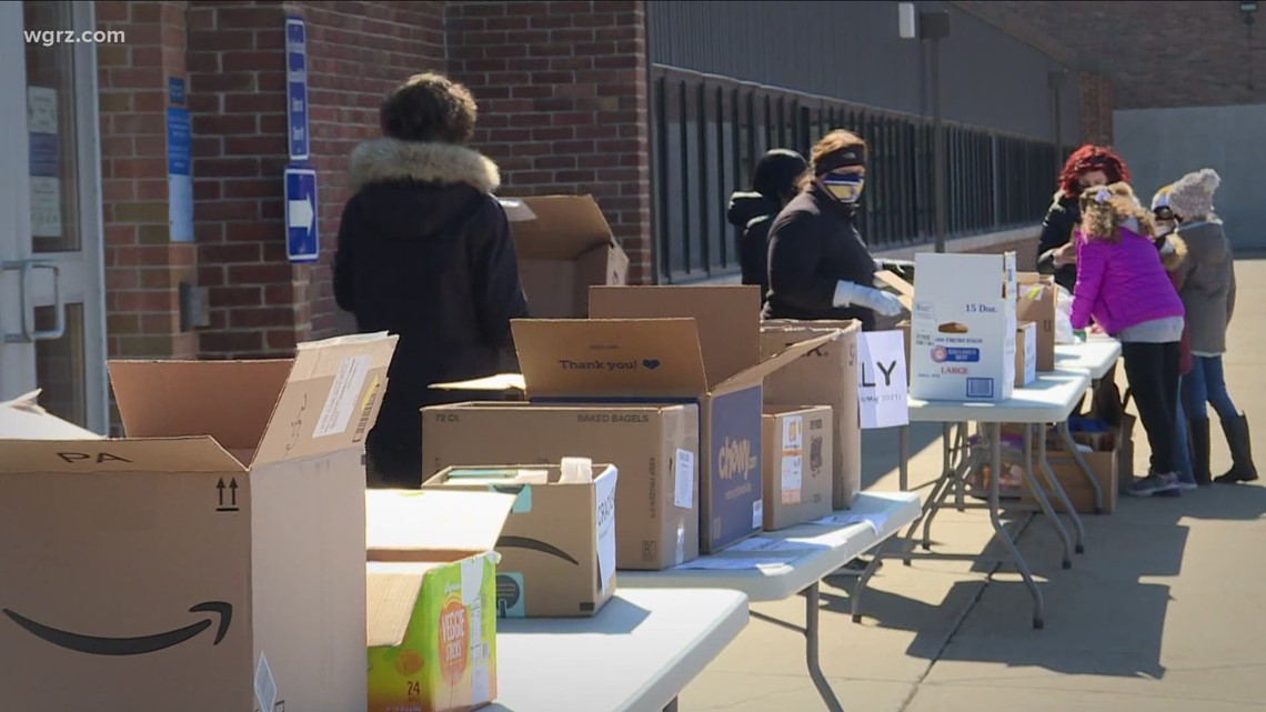 Double food drives benefiting Western New York