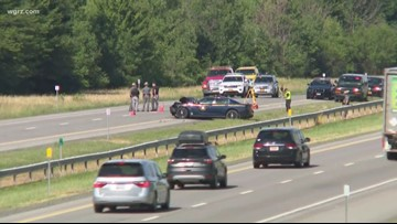 Trooper Car Involved In Serious Thruway Crash