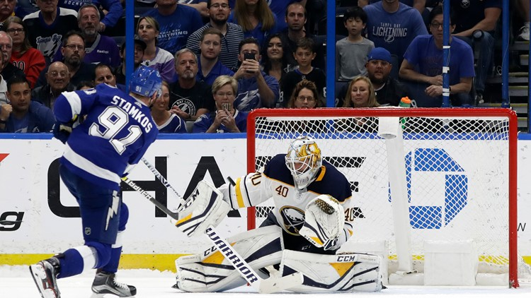 Sabres Lose to Tampa in Shootout, 2-1