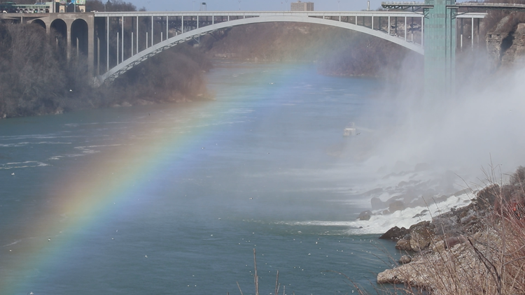 Let's take a breath with Niagara Falls, shall we?