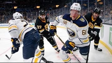 Sabres' Olofsson to miss several weeks due to injury
