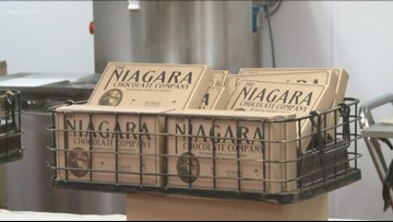 Back in business: Niagara Chocolate Company holds grand opening