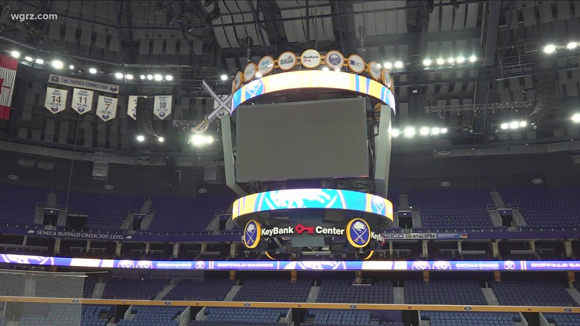 Fans gear up for Sabres home opener