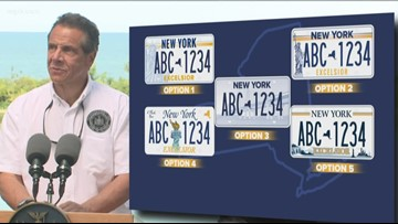 Poll: Majority of New Yorkers say $25 license plate fee is 'unfair'