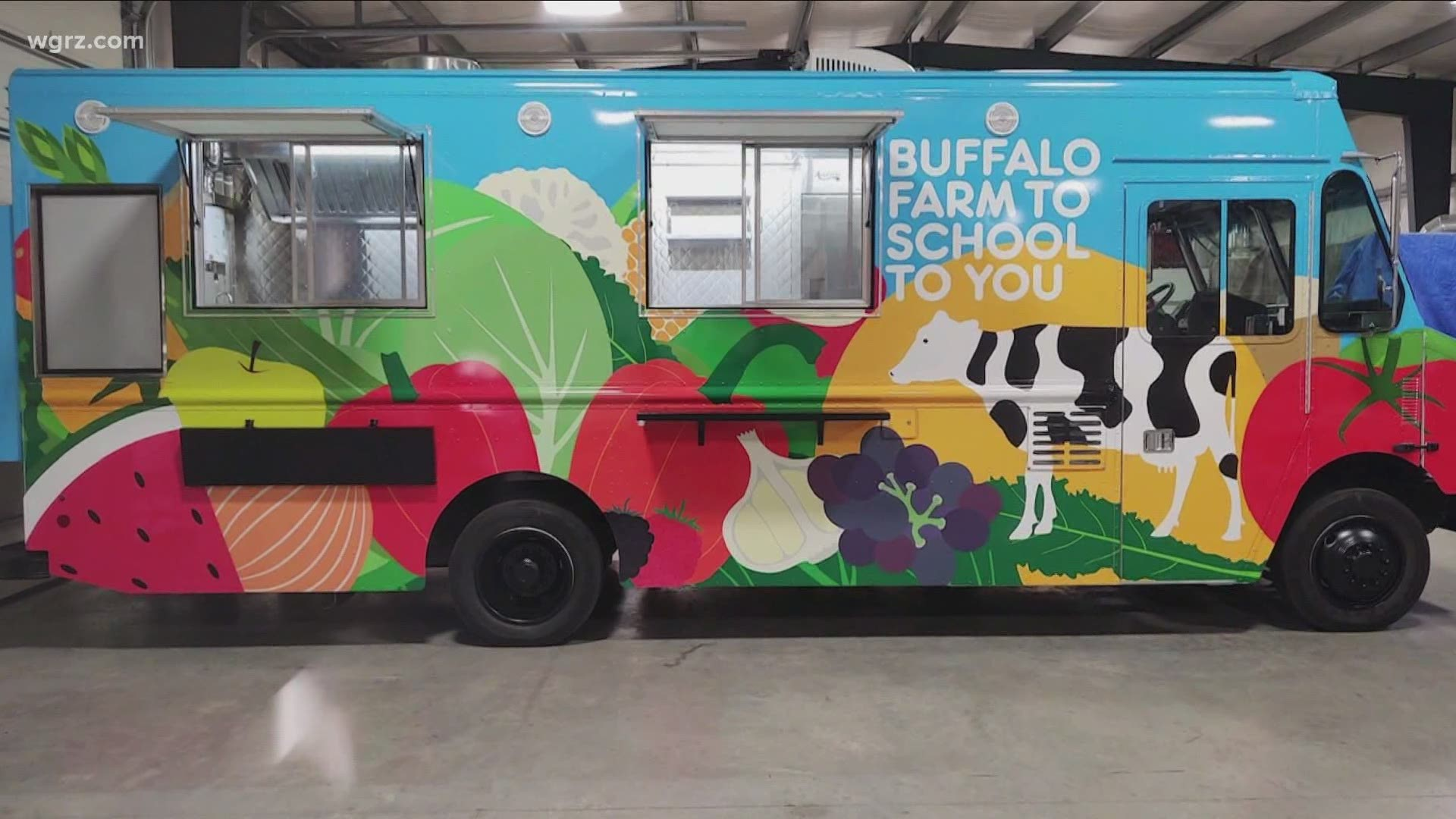 Food truck will serve locally-sourced lunches at Buffalo Public Schools