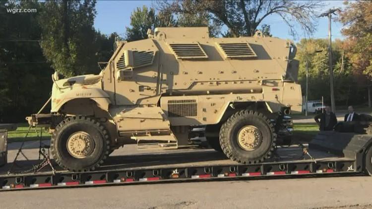 Batavia Police Get Military Surplus Mrap