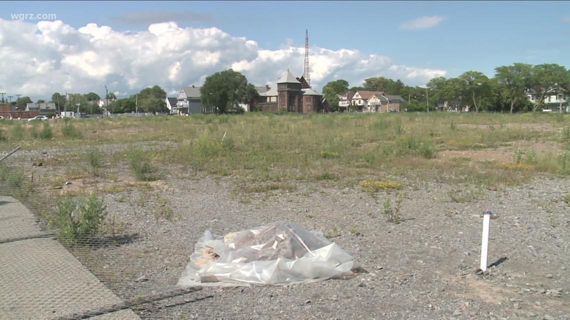 Niagara Street film studio site construction delayed because of buried fuel tanks