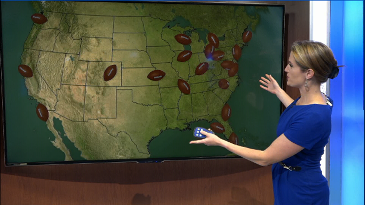 Heather's Weather Whys: Which NFL city has the most diverse weather?