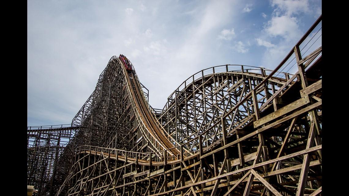 Man Rides Mean Streak 16000 Times At Cedar Point Wgrzcom