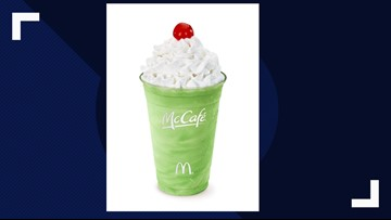 The ever-so-popular Shamrock Shake returns to McDonald's