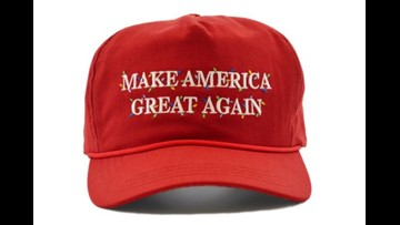 Donald Trump releases Christmas edition 'Make America Great Again' hats