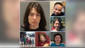 Missing SC Mom, 6 Kids Found Safe in Alabama