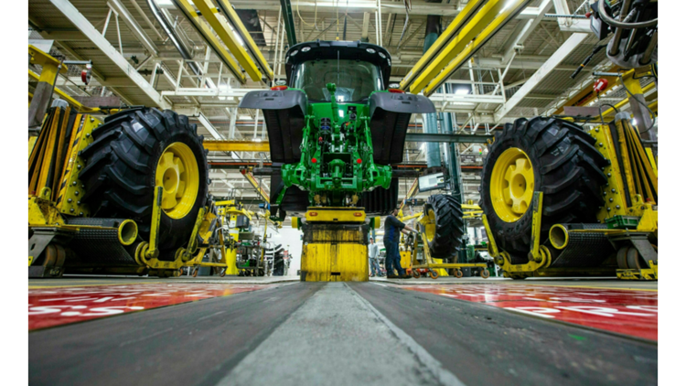 What's happening with the John Deere negotiations? Workers go on strike
