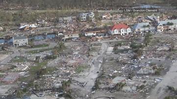 Aerial video: Hurricane Michael devastation in Mexico Beach, Florida