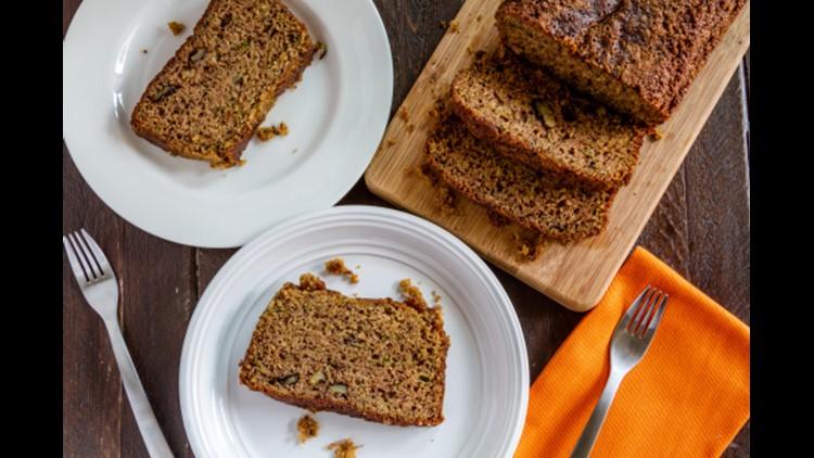 Simple and delicious zucchini bread recipe!