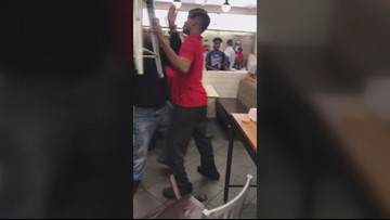 VIDEO: Violent brawl between customer and employee at Chick-fil-A in DC