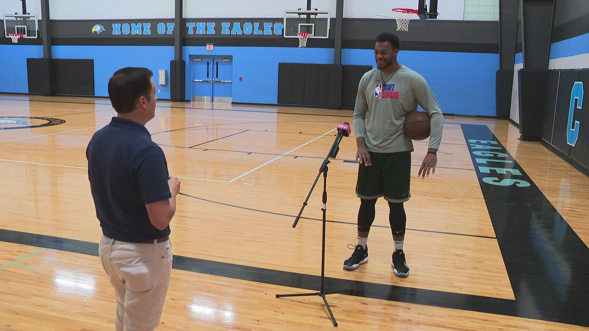 Ready For The Nba How Former Msu Star Xavier Tillman Took His Play To The Next Level With Just A Trainer A Ball And A Basketball Court Wgrz Com